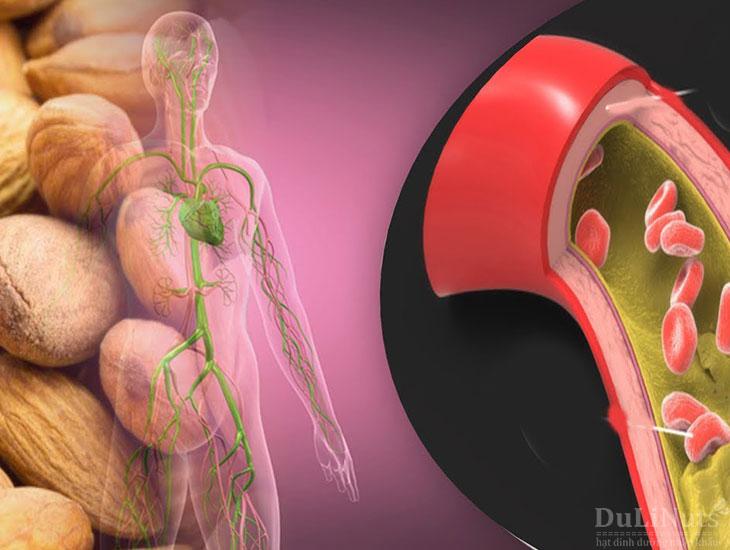 Hạt hạnh nhân giúp kiểm soát Cholesterol