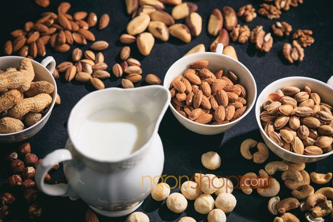 Hạt dinh dưỡng sấy khô tốt cho tiểu đường