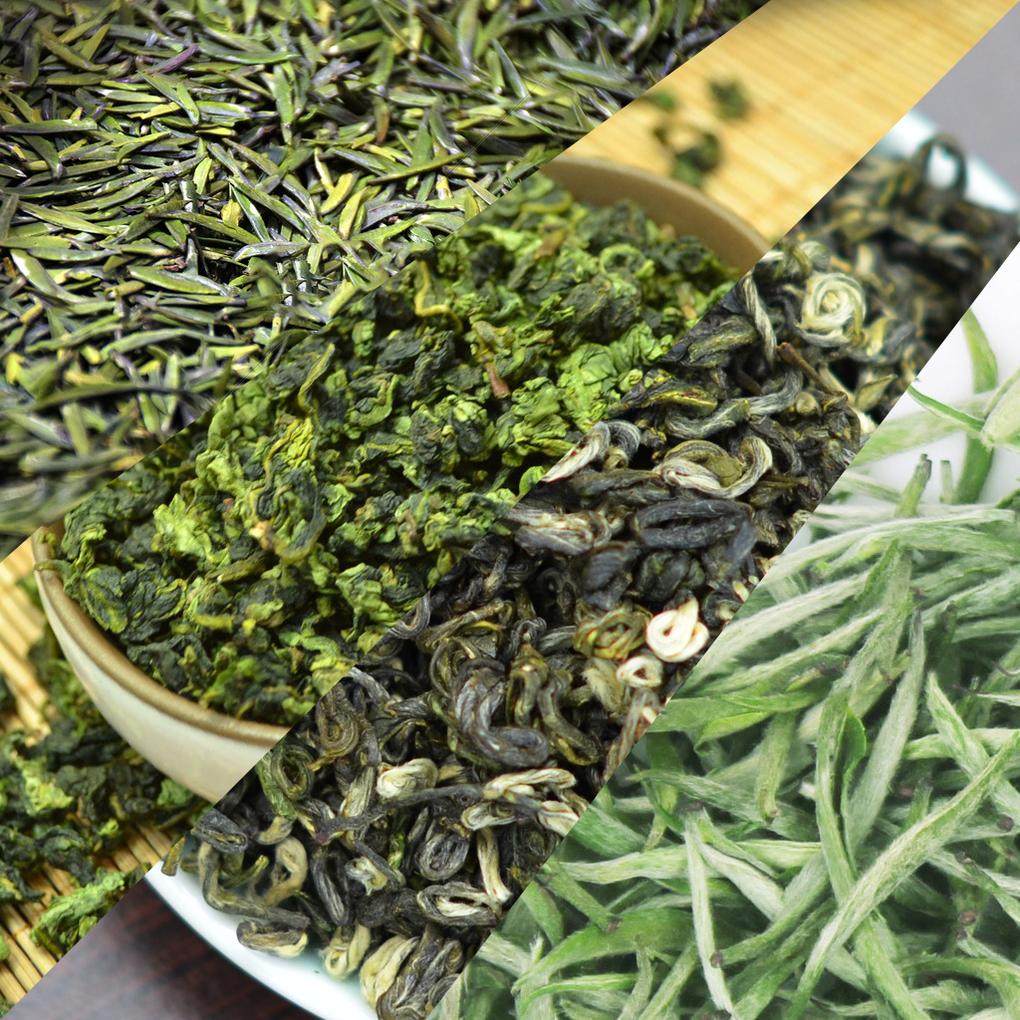 các chủng loại trà xanh