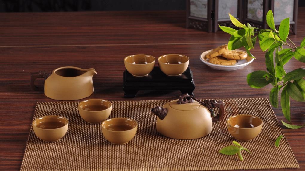 dụng cụ pha trà xanh