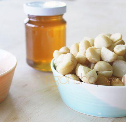 Cách làm hạt mắc ca tẩm mật ong ngon không cưỡng nổi 4