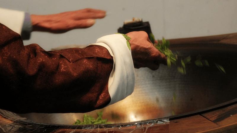 quy trình sao trà long tỉnh được chia thành thanh oa và huy oa