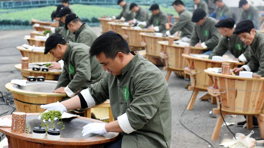 quy trình sao trà long tỉnh ngon đòi hỏi phải yêu nghề