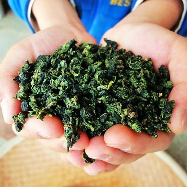 sấy khô trà thiết quan âm nùng hương hình