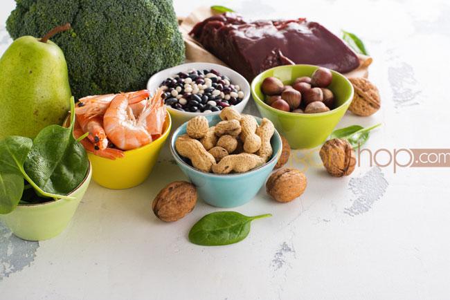 Những thực phẩm chứa nhiều axit folic