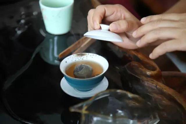 trà phổ nhĩ quýt tiểu thanh cam