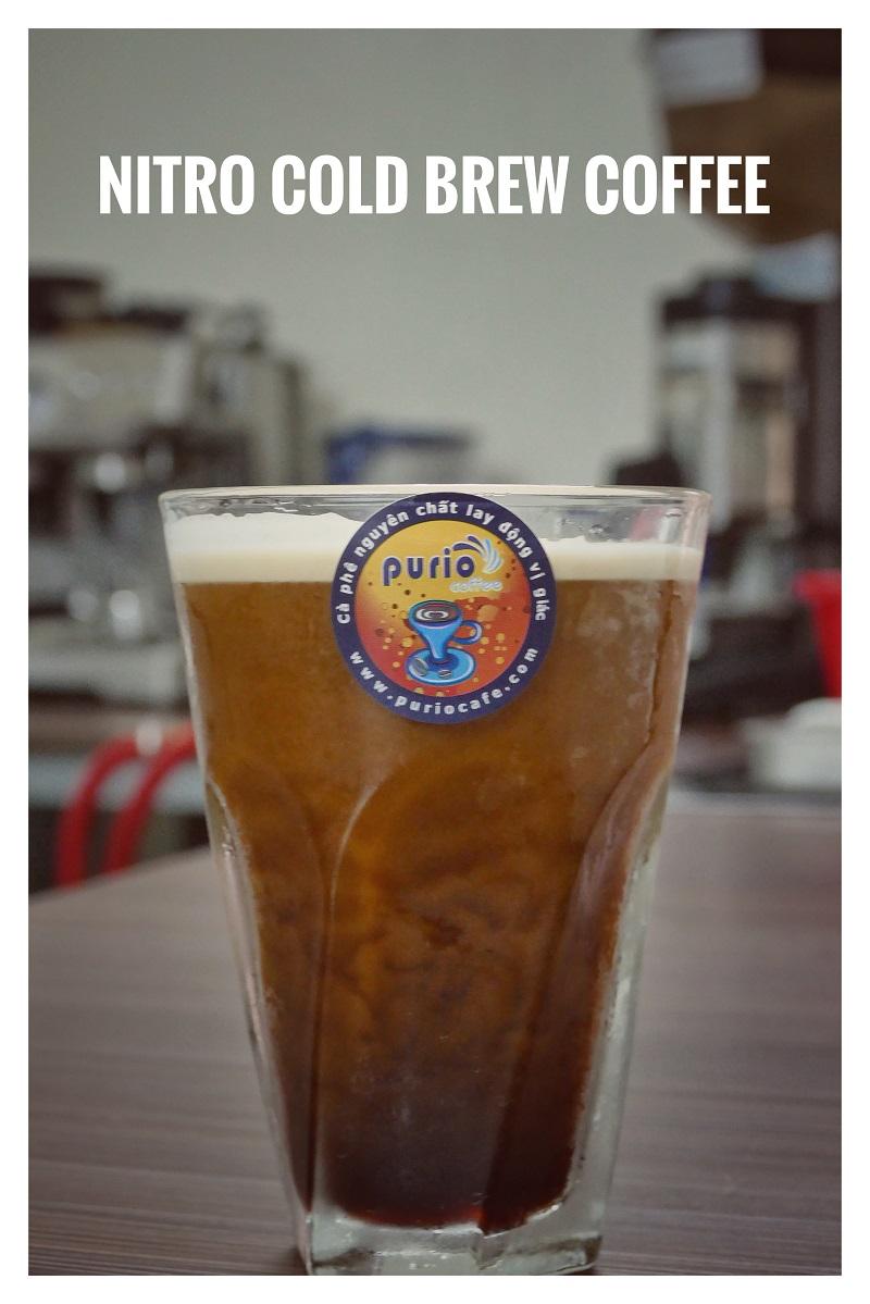 Ly cafe ngon khó cưỡng khi được pha bằng Nitro Cold Brew