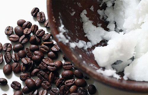 da trắng sáng tự nhiên bằng dầu dừa và cà phê 1