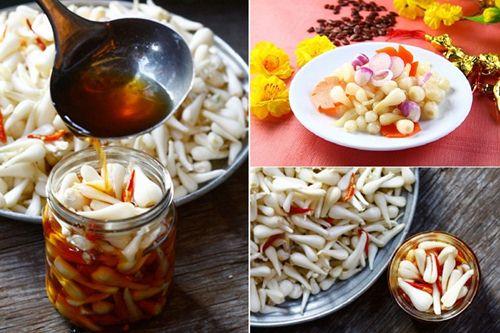 Top 3 cách làm dưa chua chay | Thực phẩm cho những ngày Tết Việt Nam 1