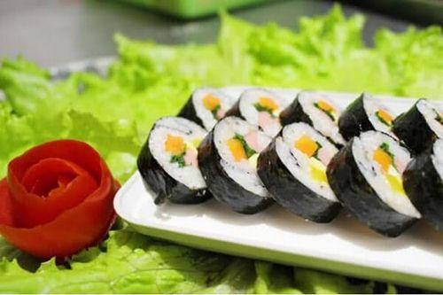 Cách làm sushi chay siêu ngon mà chế biến lại rất đơn giản 4