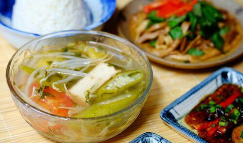 Món canh chay ngon dễ nấu – Cho bữa ăn thanh đạm 4