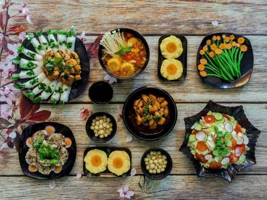 Set up thực đơn món ăn hàng ngày dành cho những người ăn chay thuần 12
