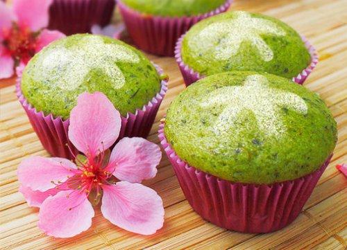 Cách chế biến các món tráng miệng chay từ trà xanh matcha 2