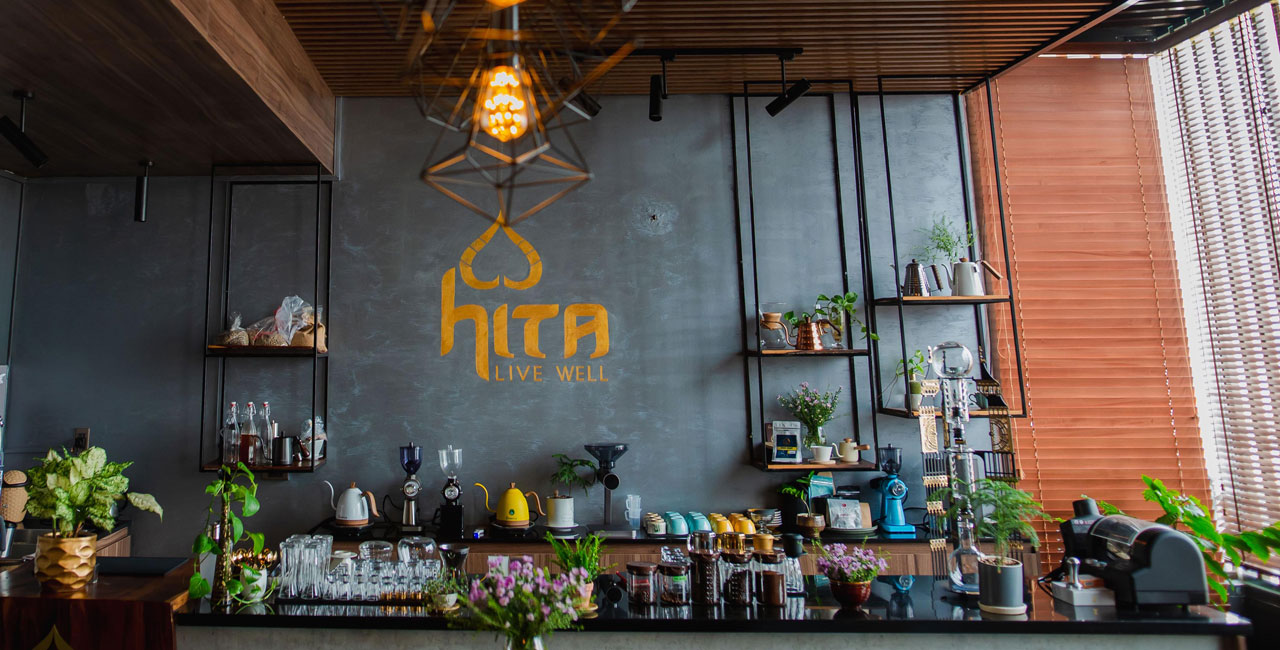 Quầy HITA Coffee