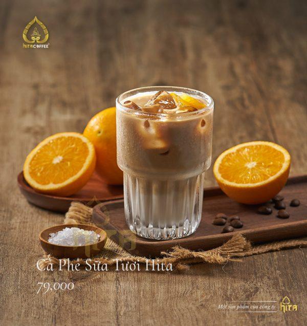 Cà phê sữa tươi Hita