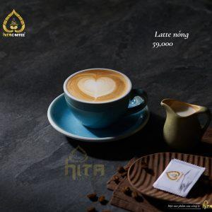 Latte nóng hita coffee