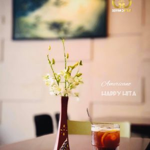 Americano Happy Hita - hitacoffee takeaway