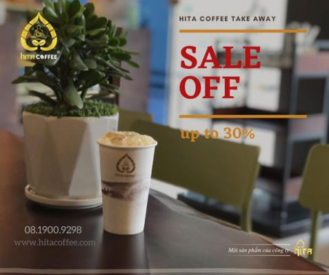 HITA Coffee take away sale off
