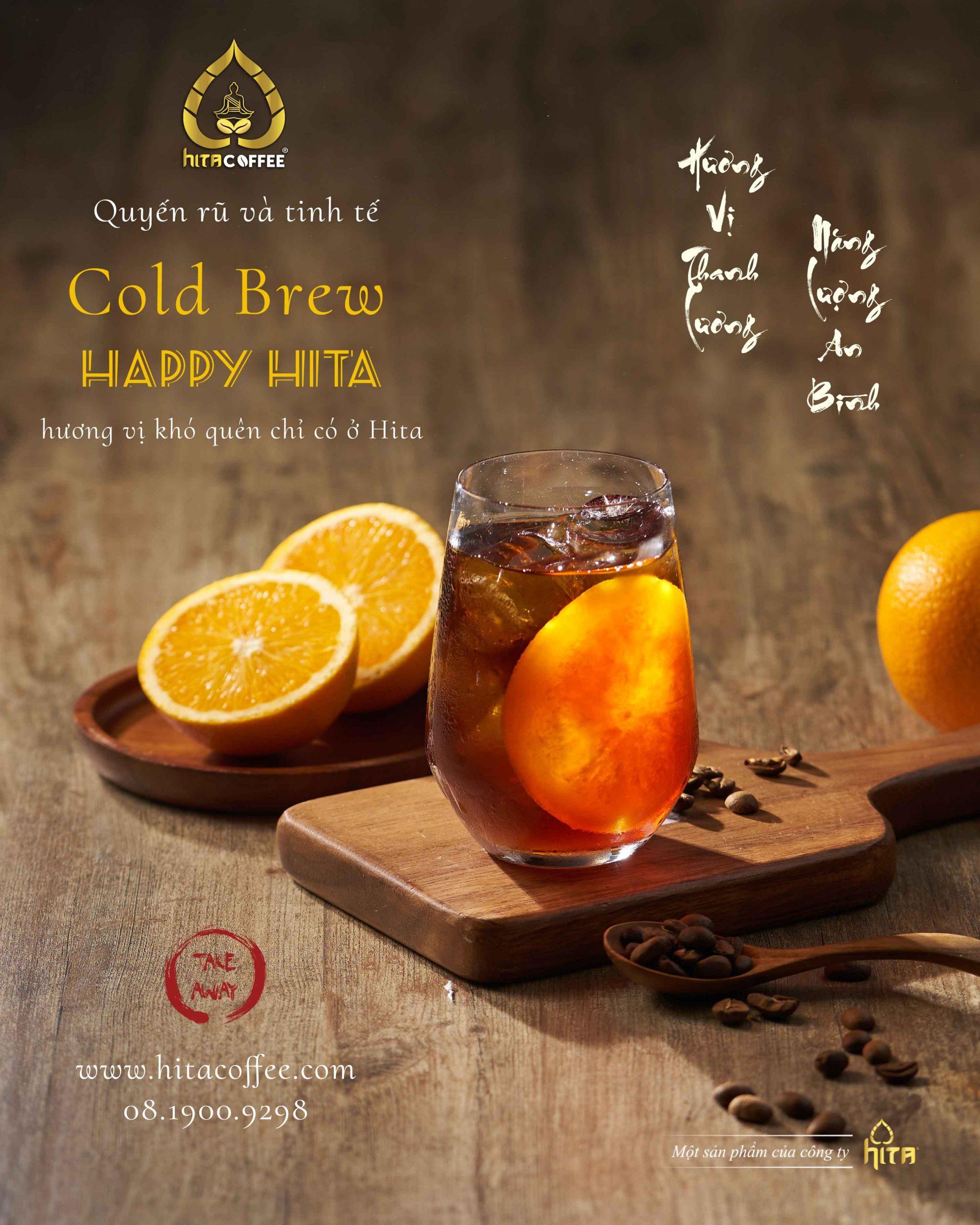 Ly cà phê Cold Brew tại HITA Coffee 4