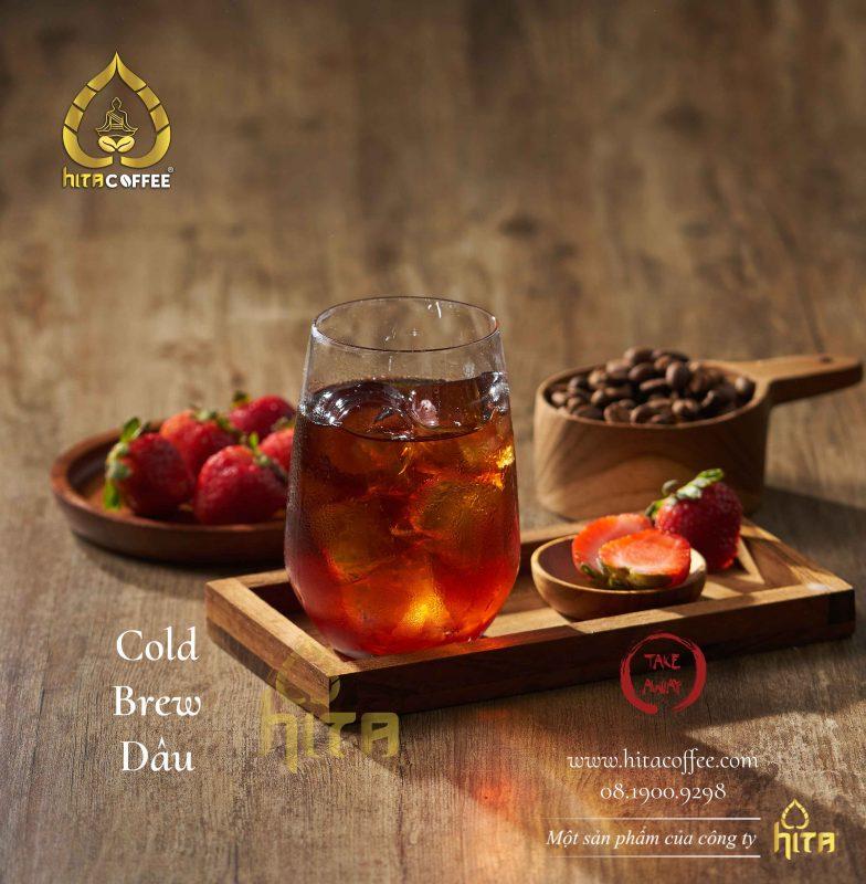 Ly cà phê Cold Brew tại HITA Coffee 1