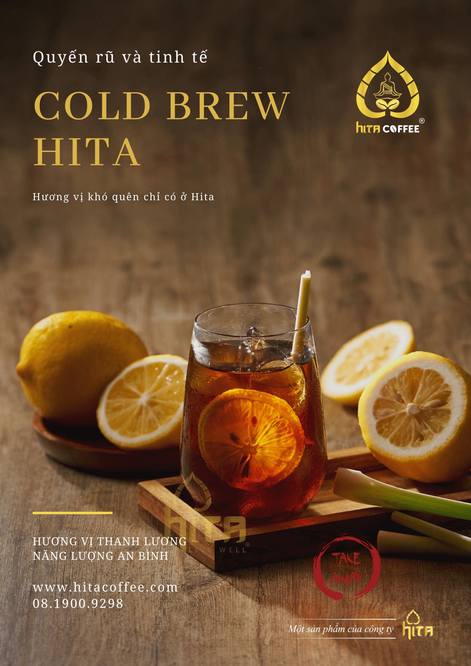Ly cà phê Cold Brew tại HITA Coffee 5